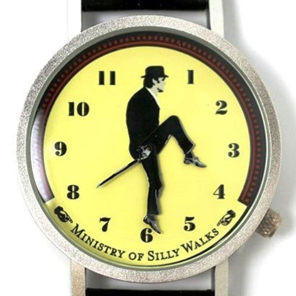 Monty Python John Cleese Animated Wrist Watch Ministry of Silly Walks -  -  Little British Shop - 2