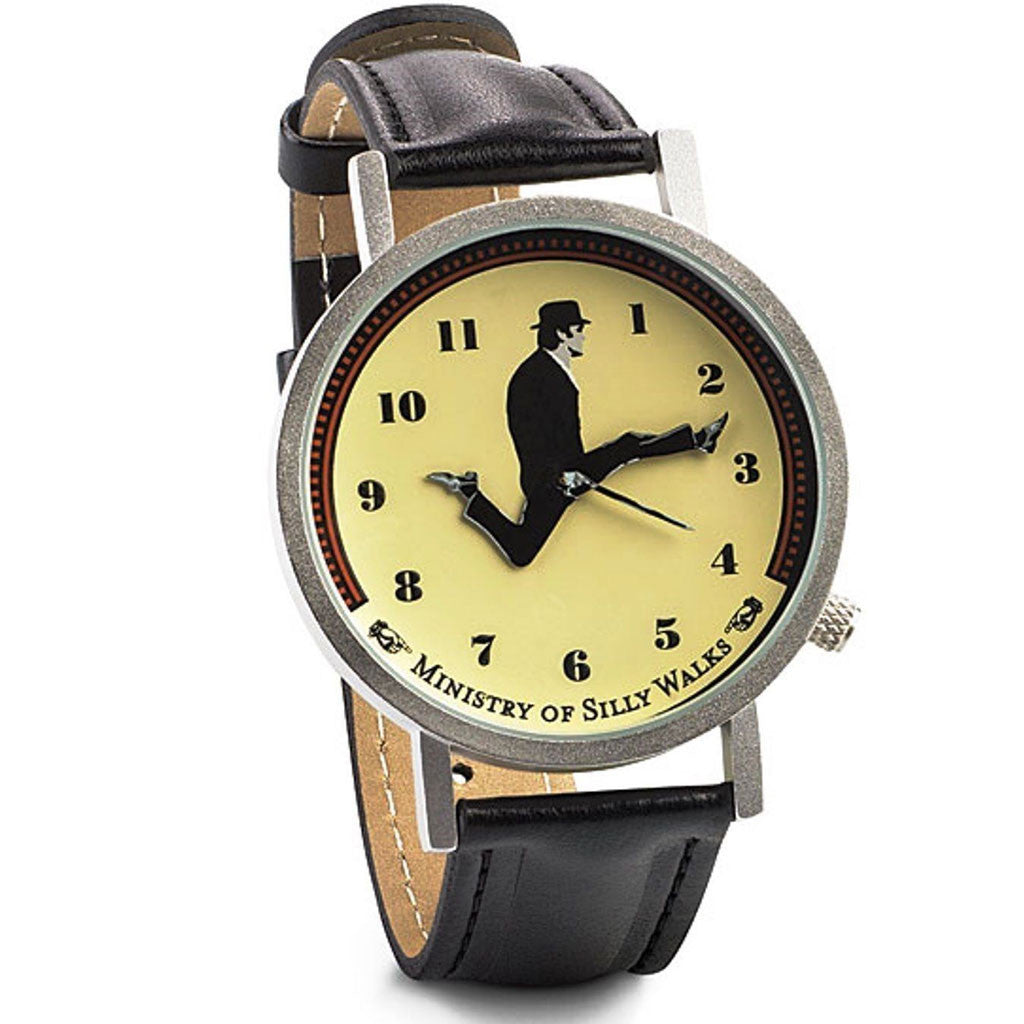 Monty Python John Cleese Animated Wrist Watch Ministry of Silly Walks -  -  Little British Shop - 1