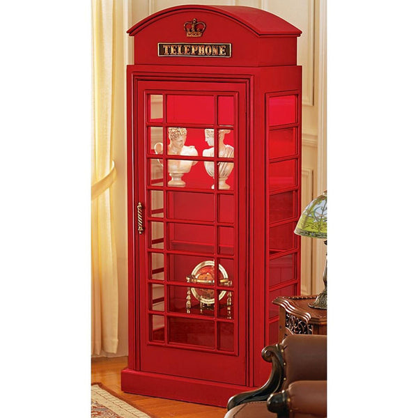 British Red Telephone Booth Cabinet -  -  Little British Shop - 1