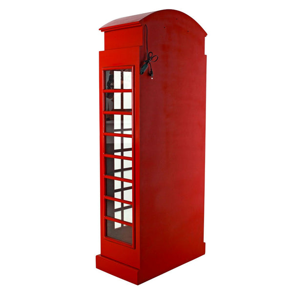 British Red Telephone Booth Cabinet -  -  Little British Shop - 5