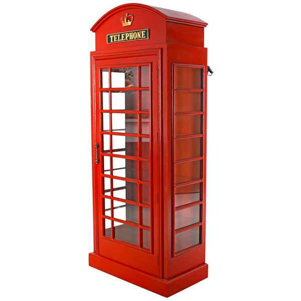 British Red Telephone Booth Cabinet -  -  Little British Shop - 2
