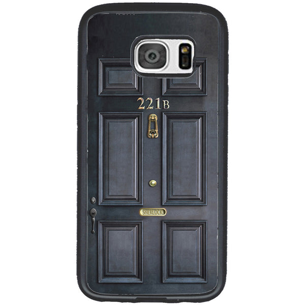 Sherlock Holmes Door Rubber Phone Case - Samsung Galaxy S6 -  Little British Shop - 2