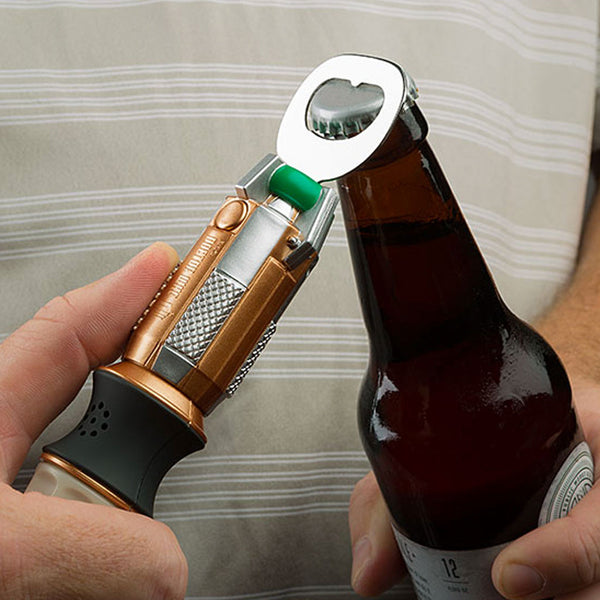 Doctor Who Sonic Screwdriver Bottle Opener With Sound Effects -  -  Little British Shop - 2