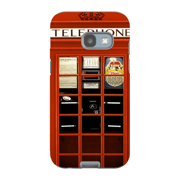 Samsung Galaxy A3 (2017 Model)-H.M. British Red Telephone Box - Tough Dual Layer Protected Phone Case