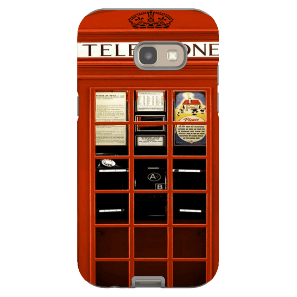 Samsung Galaxy A5 (2017 Model)-H.M. British Red Telephone Box - Tough Dual Layer Protected Phone Case
