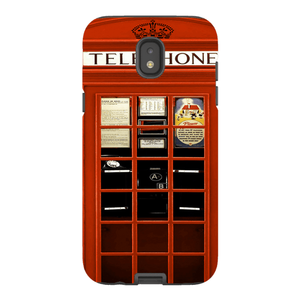 Samsung Galaxy J5 (2017 Model)-H.M. British Red Telephone Box - Tough Dual Layer Protected Phone Case