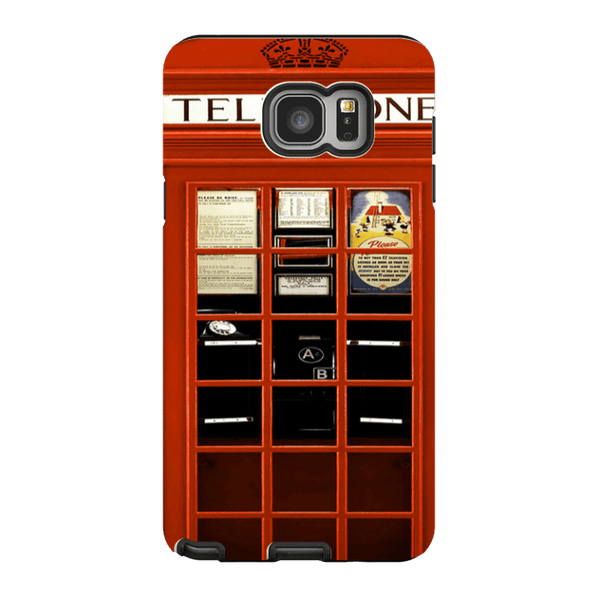 Samsung Galaxy Note 5-H.M. British Red Telephone Box - Tough Dual Layer Protected Phone Case