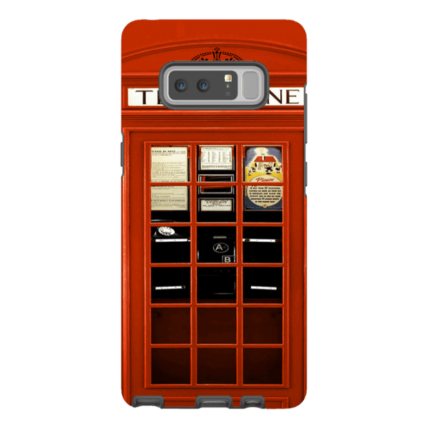 Samsung Galaxy Note 8-H.M. British Red Telephone Box - Tough Dual Layer Protected Phone Case