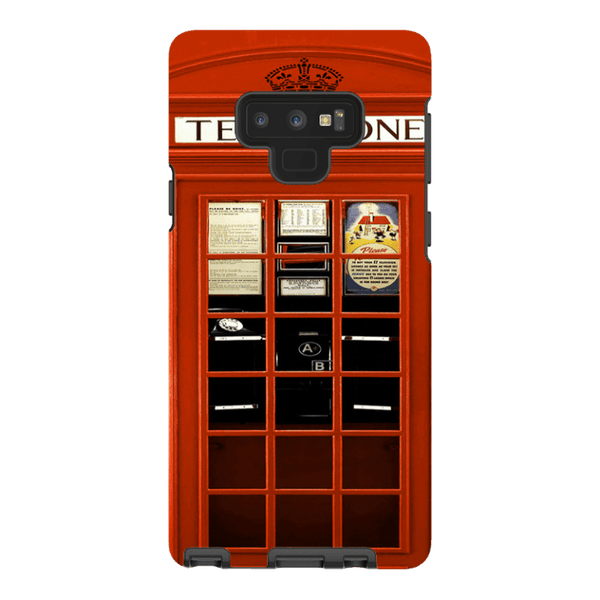 Samsung Galaxy Note 9-H.M. British Red Telephone Box - Tough Dual Layer Protected Phone Case