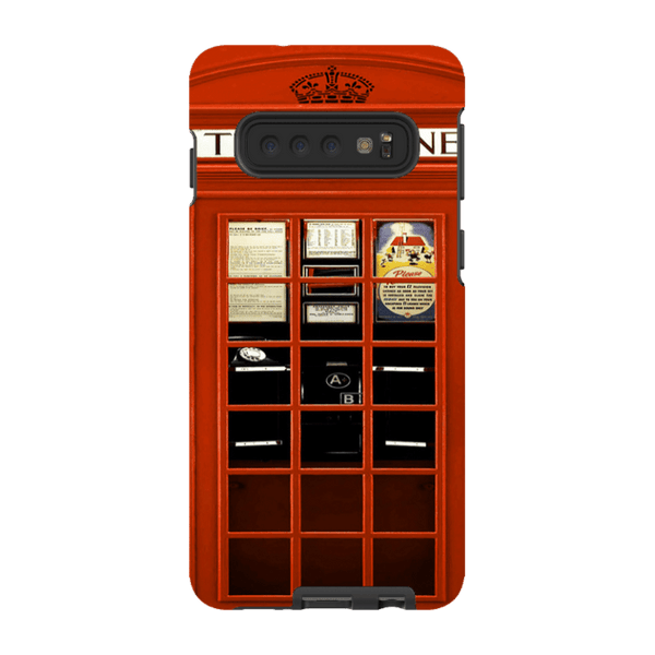 Samsung Galaxy S10-H.M. British Red Telephone Box - Tough Dual Layer Protected Phone Case
