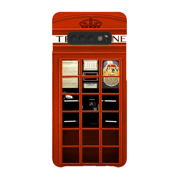 Samsung Galaxy S10 Plus-H.M. British Red Telephone Box - Tough Dual Layer Protected Phone Case