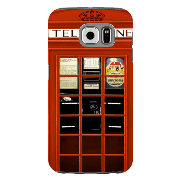 Samsung Galaxy S6-H.M. British Red Telephone Box - Tough Dual Layer Protected Phone Case