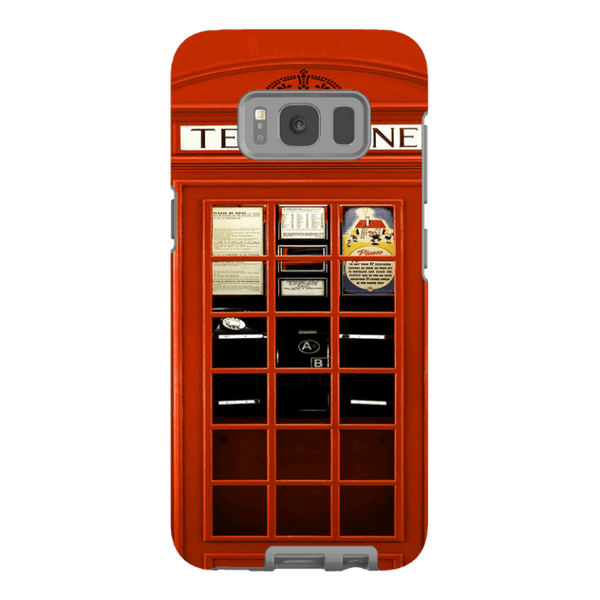 Samsung Galaxy S8-H.M. British Red Telephone Box - Tough Dual Layer Protected Phone Case