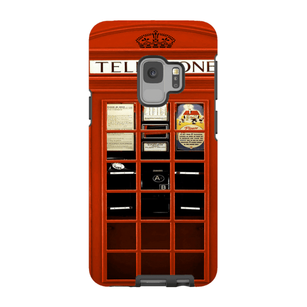Samsung Galaxy S9-H.M. British Red Telephone Box - Tough Dual Layer Protected Phone Case