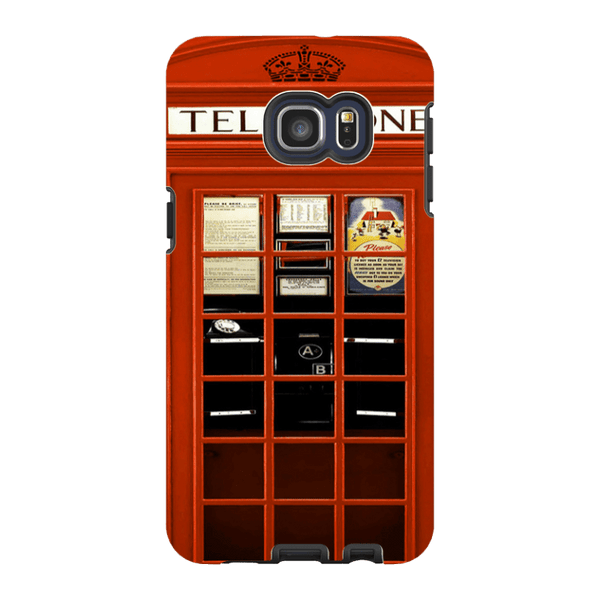 Samsung Galaxy S6 Edge Plus-H.M. British Red Telephone Box - Tough Dual Layer Protected Phone Case