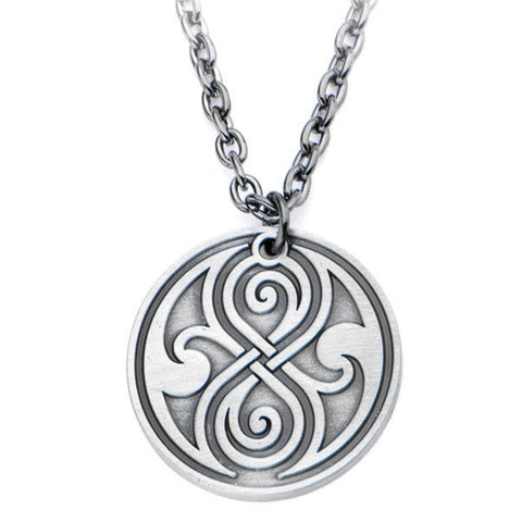 Doctor Who Seal of Rassilon Pendant Necklace -  -  Little British Shop - 1