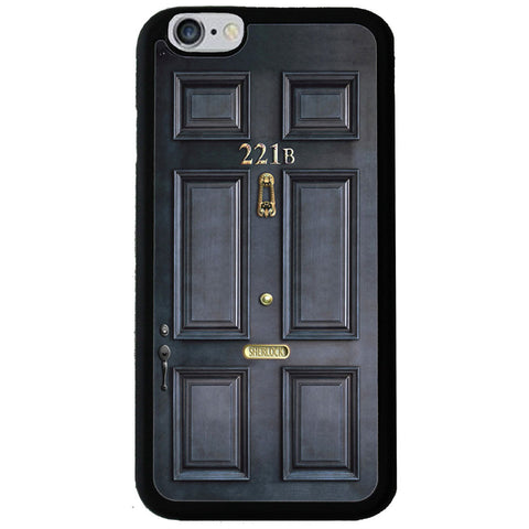 Sherlock Holmes Door Rubber Phone Case - iPhone 6/6s -  Little British Shop - 1