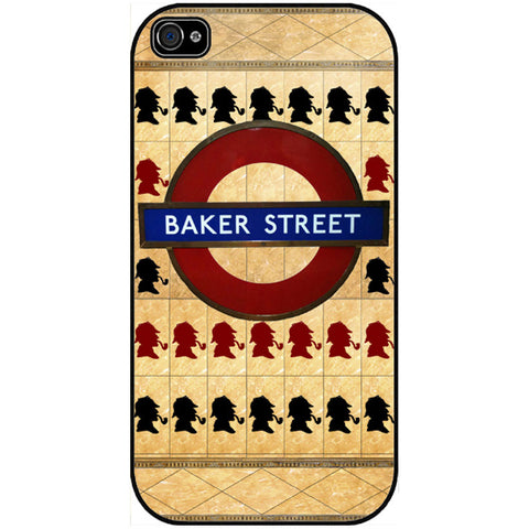 Sherlock Baker Street Subway - Phone Case -  -  Little British Shop