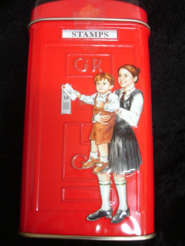 H.M. British Red Telephone Booth Tea Gift Tin - Includes 25 Tea Bags -  -  Little British Shop - 4