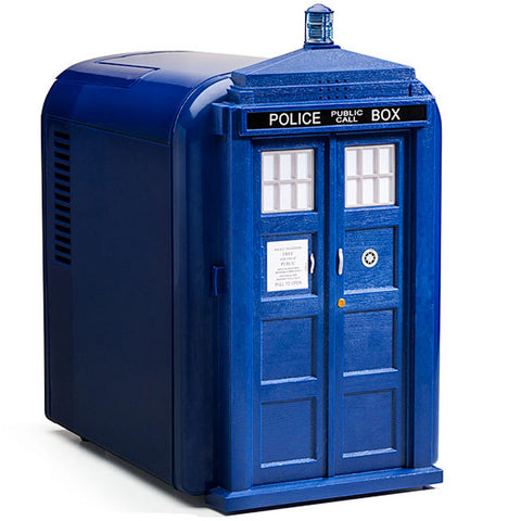 Doctor Who Blue Tardis Mini Fridge -  -  Little British Shop - 1