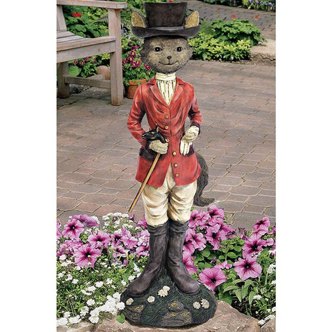Tally-Ho Equestrian Fox Hunt Statue -  -  Little British Shop - 1