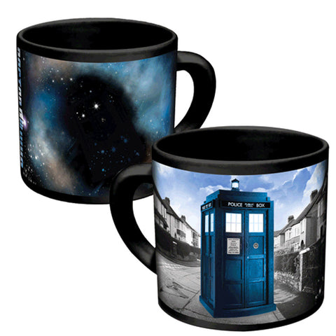 Doctor Who Disappearing Tardis Mug -  -  Little British Shop - 1