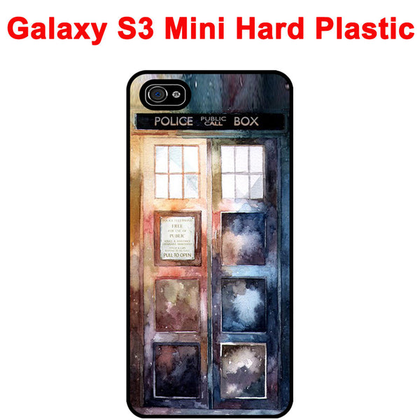 Doctor Tardis Watercolour Edition Rubber Phone Case -  -  Little British Shop - 2