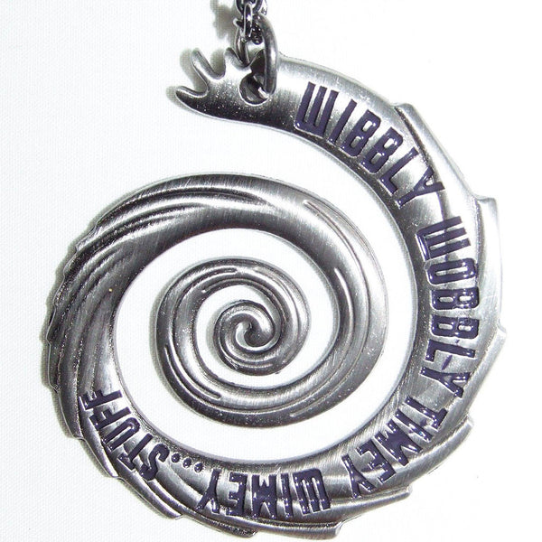 Doctor Who Timey Wimey Vortex Necklace Officially Licensed -  -  Little British Shop - 1