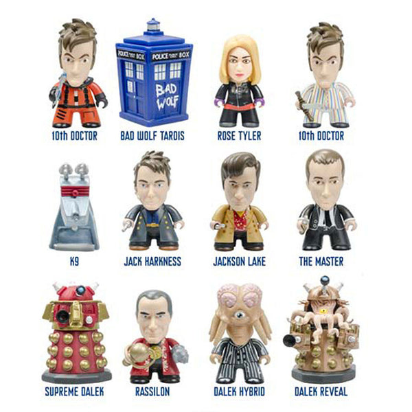 Doctor Who Titans Tenth Doctor Gallifrey Blind Box Vinyl Figure -  -  Little British Shop - 2