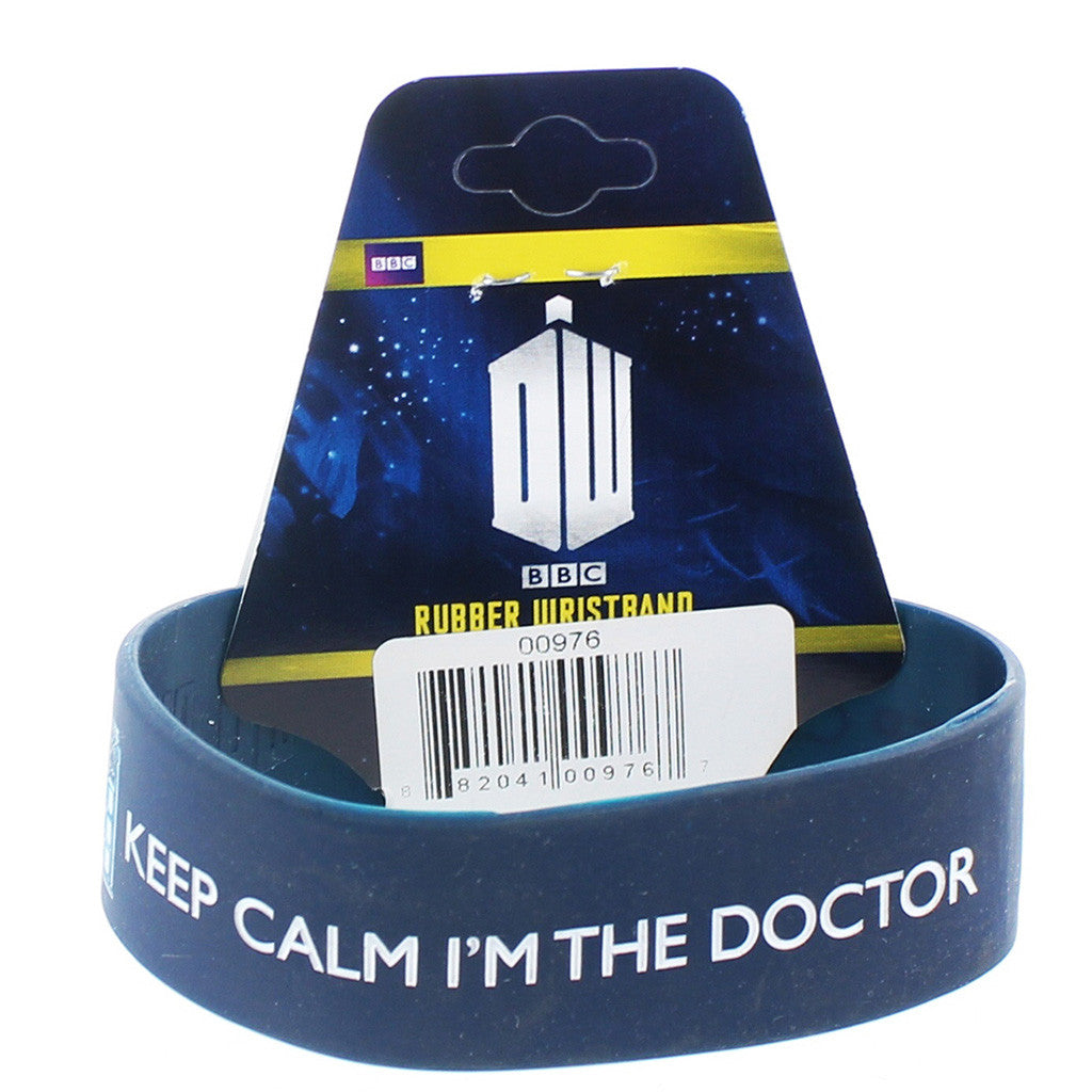 Doctor Who Rubber Wristband I'm The Doctor -  -  Little British Shop