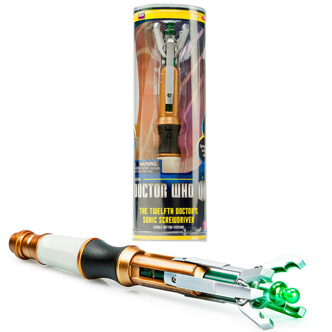 Doctor Who 12th Doctor Sonic Screwdriver W/Sound -  -  Little British Shop