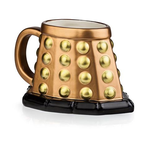 Doctor Who Dalek 3D Mug (Bronze) -  -  Little British Shop