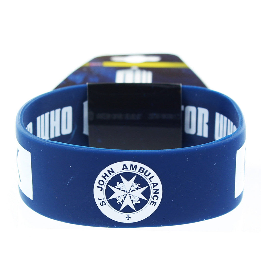Doctor Who Rubber Wristband I Am TARDIS -  -  Little British Shop