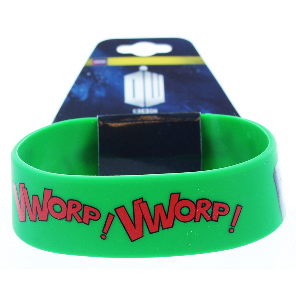 Doctor Who Rubber Wristband Vworp! -  -  Little British Shop