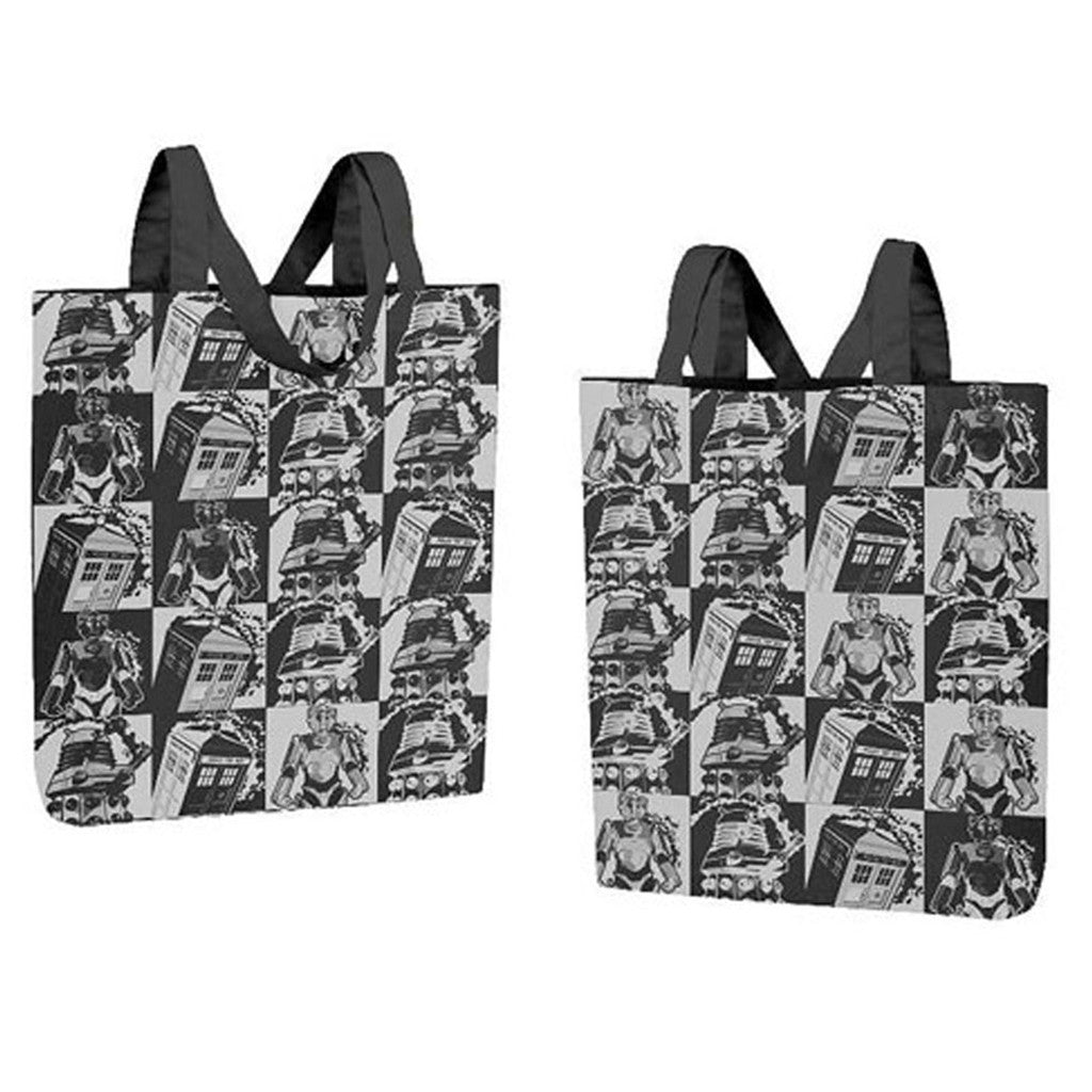 Doctor Who Large Tote Bag: Comic Strip -  -  Little British Shop
