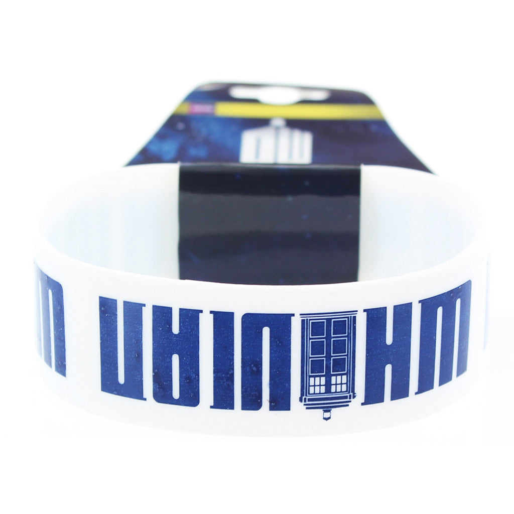Doctor Who Rubber Wristband Whovian -  -  Little British Shop