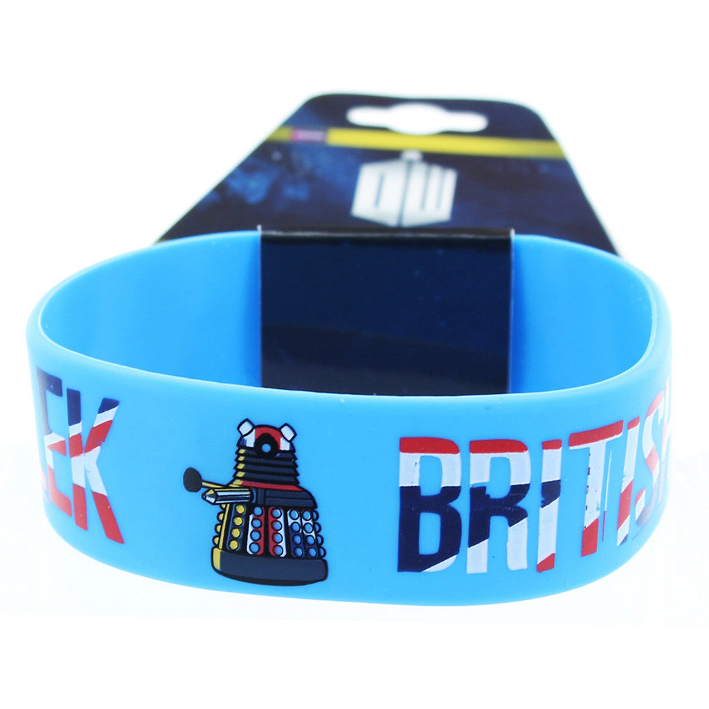 Doctor Who Rubber Wristband Dalek British Invasion -  -  Little British Shop