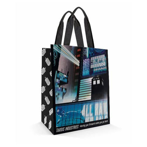 Doctor Who Small Tote Bag: Tokyo Tardis -  -  Little British Shop