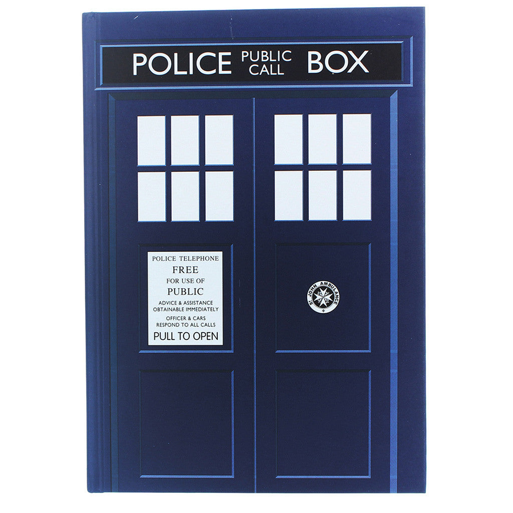 Doctor Who TARDIS Standard Notebook -  -  Little British Shop