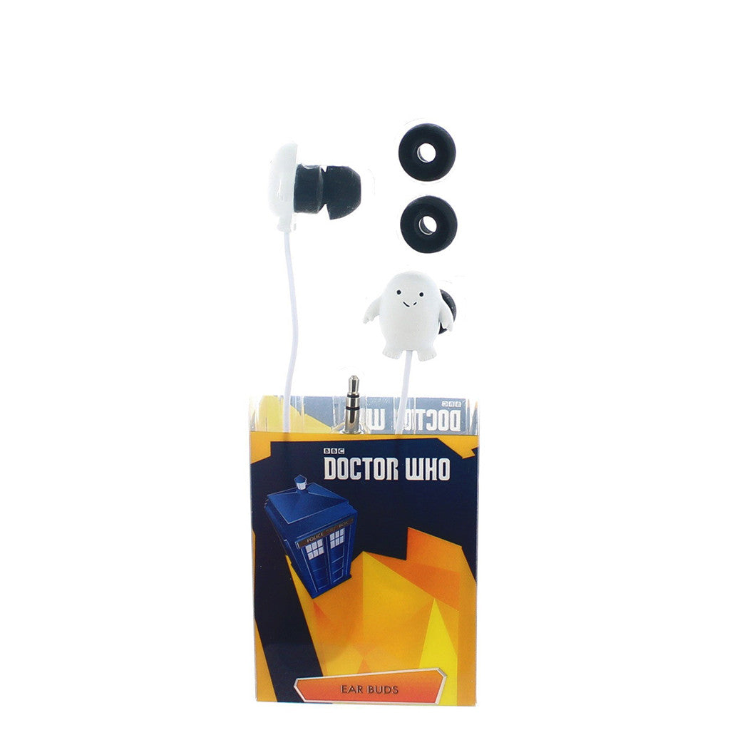 Doctor Who Earbuds: Adipose -  -  Little British Shop