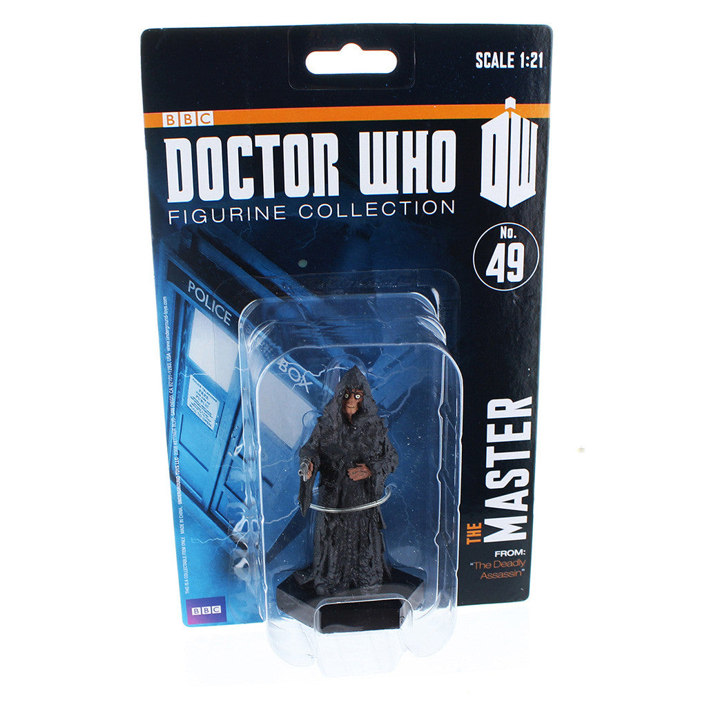 "Doctor Who 4"" Resin Figure: The Master (Deadly Assassin) -  -  Little British Shop"