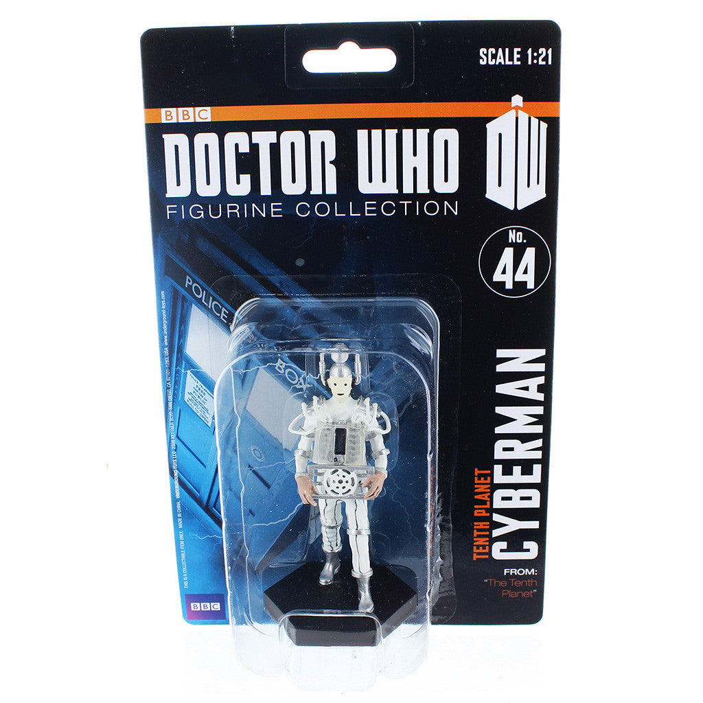 "Doctor Who 4"" Resin Figure: Tenth Planet Cyberman -  -  Little British Shop"