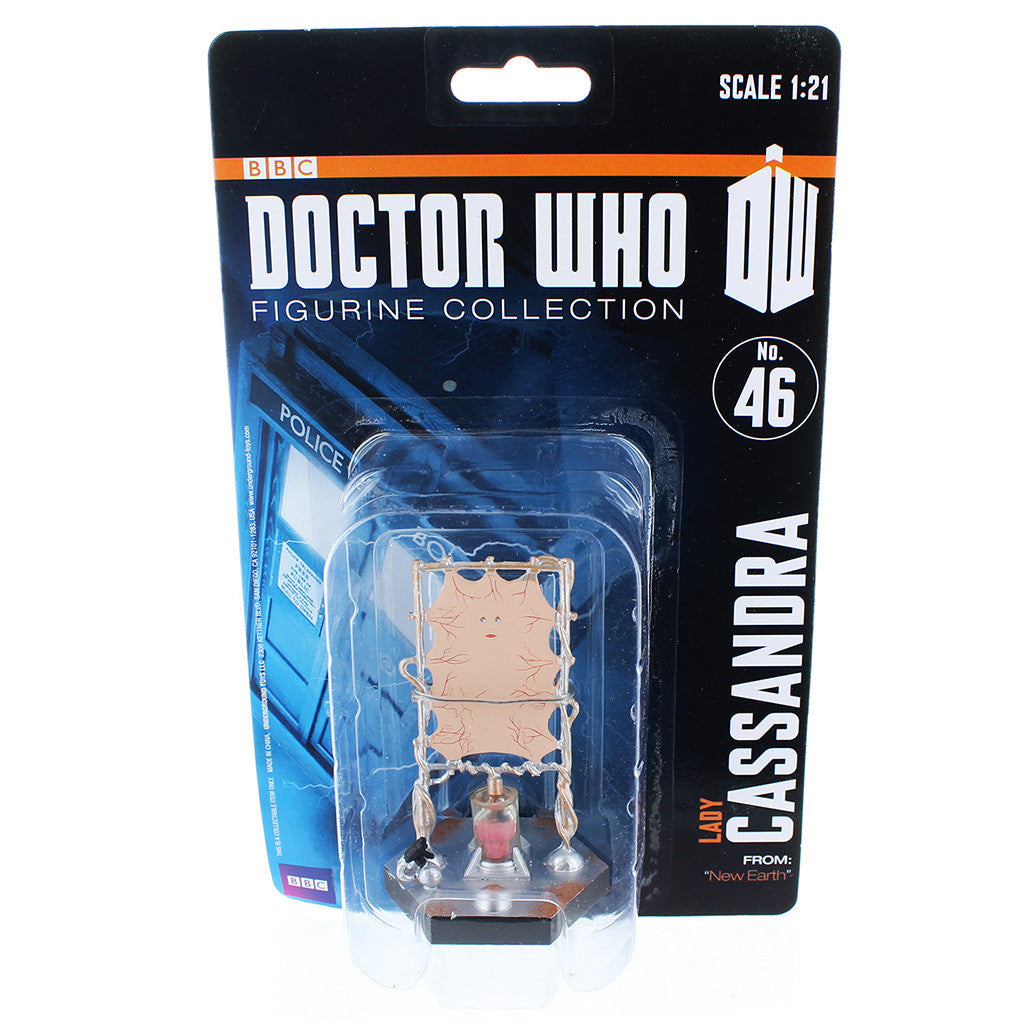 "Doctor Who 4"" Resin Figure: Lady Cassandra (New Earth) -  -  Little British Shop"