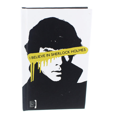 Sherlock Holmes Mini Journal I Believe In Sherlock/Moriarty Was Real -  -  Little British Shop