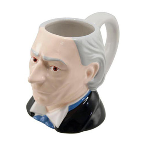 Doctor Who The First Doctor Ceramic 3D Mug William Hartnell -  -  Little British Shop