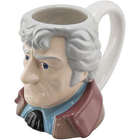 Doctor Who The Third Doctor Ceramic 3D Mug Jon Pertwee -  -  Little British Shop