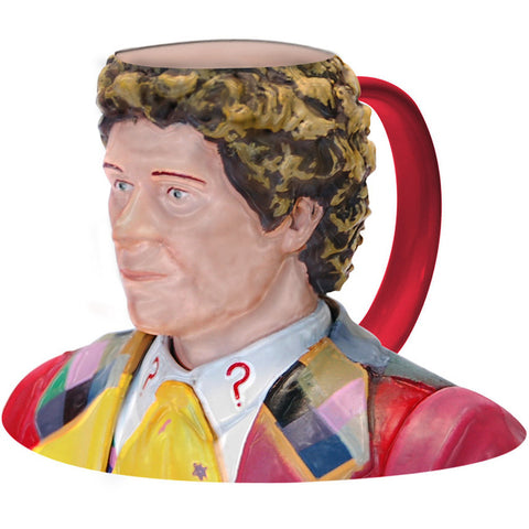 Doctor Who 6th Doctor Colin Barker Ceramic 3D Toby Jug Mug -  -  Little British Shop