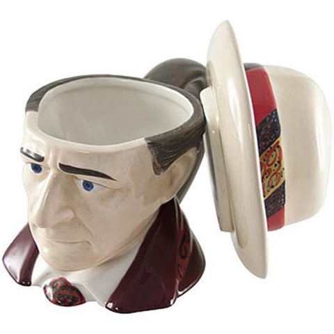 Doctor Who The Seventh Doctor Ceramic 3D Mug Sylvester Mccoy -  -  Little British Shop