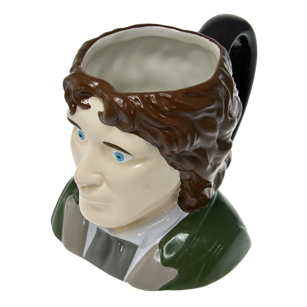 Doctor Who 8th Doctor Paul Mcgann Ceramic 3D Toby Jug Mug -  -  Little British Shop