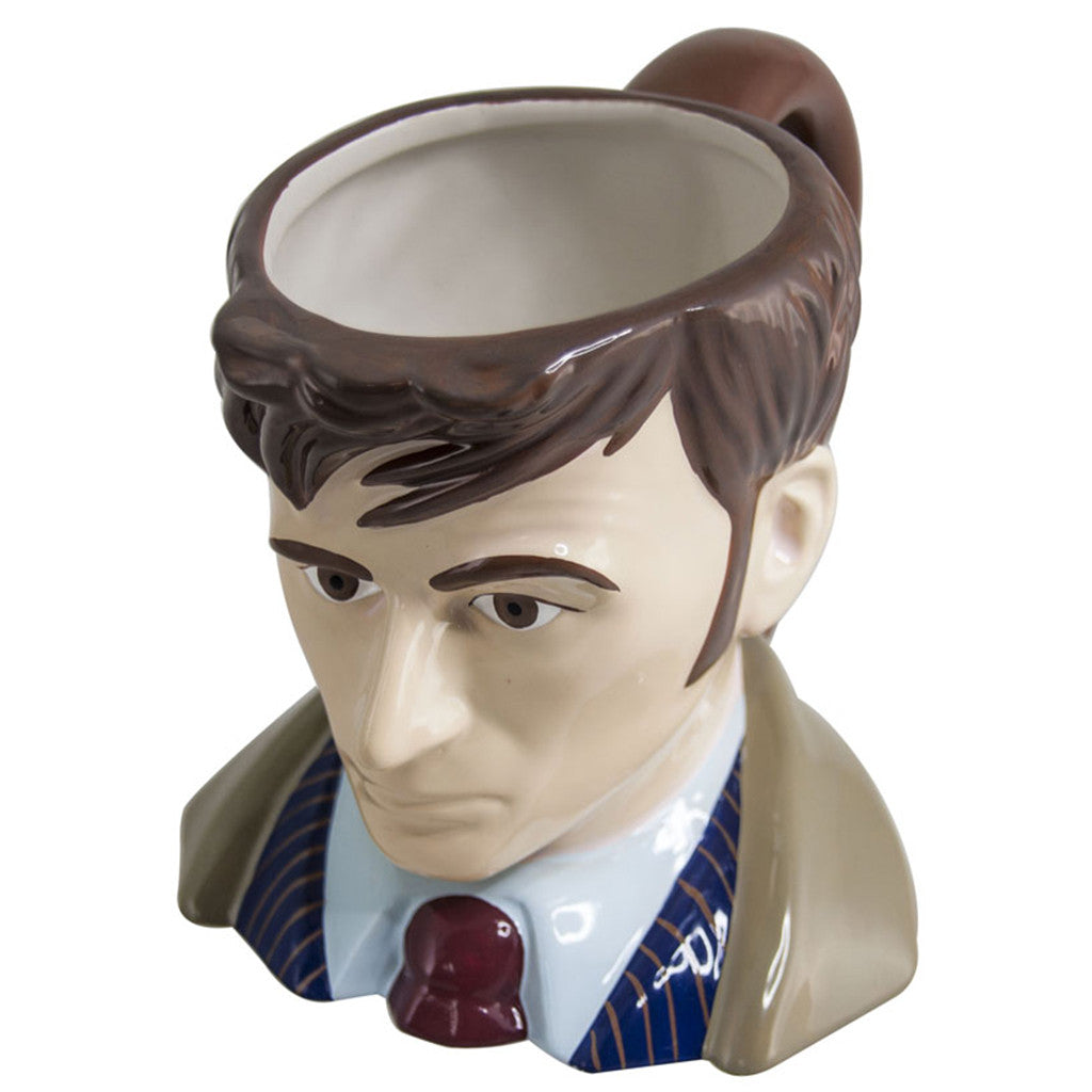 Doctor Who Toby Jug 10th Doctor Ceramic Mug -  -  Little British Shop